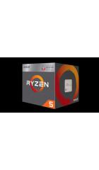 APU sAM4 AMD Ryzen 3 2200G Tray (YD2200C5M4MFB) (3.5-3.7GHz, Raven Ridge, 4C/4T, L2: 2MB, L3: 4MB, Radeon RX Vega 8 (512 Shader cores, 1100MHz), 14nm, 65W, DDR4-2933)