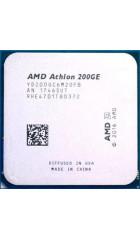 APU sAM4 AMD 200GE Tray (YD200GC6M2OFB) (3.20GHz, Raven Ridge, 2C/4T, GPU: Radeon Vega 3 (192 Shader cores, 1000MHz), L2: 1MB, L3: 4MB, 14nm, 35W, DDR4-2666)
