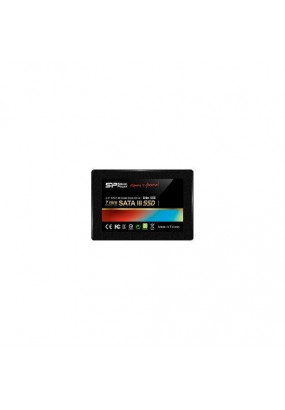 "SSD 2.5"" 120GB SATA3 Silicon Power Slim S55, box (SP120GBSS3S55S25) (7 mm, Phison PS3108, TLC, R/W: up to 550/500MB/s)"