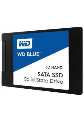 "SSD 2,5"" 1.0TB SATA3 WD Green 3D NAND, box (WDS100T2B0A) (7 mm, 3D TLC, Marvell 88SS1074, R/W: up to 560/530MB/s, 4KB W: up to 83000 IOPS, MTBF: 1750000 hrs, 400 TBW)"