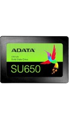 "SSD 2.5"" 120GB SATA3 Adata Ultimate SU650, retail (ASU650SS-120GT-R) (3D TLC, R/W: up to 520/320MB/s, Write 4KB: 75000 IOPS, MTBF: 2000000 hrs)"