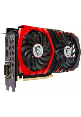 VGA MSI GeForce GTX1050Ti Gaming 4GB 128bit GDDR5 (1290-1430/7008) DVI-D/HDMI V2.0/DP V1.4 (GTX 1050 Ti GAMING 4G)