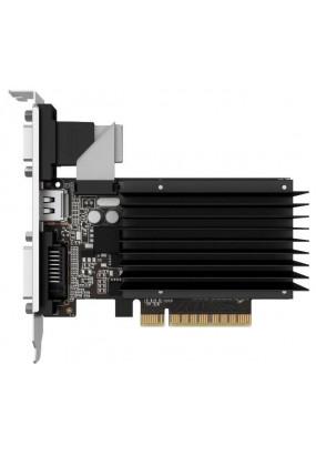 VGA PALIT GeForce GT710 Silent 2GB 64Bit GDDR3 (954/1600) D-SUB/DVI/HDMI (NEAT7100HD46-2080H)