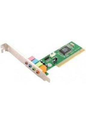 Звуковая карта C-Media 4 Ch, box. PCI, 4.0 Ch, AP: C-Media CMI8738, 16bit/48kHz, SNR: 92dB, EAX 2.0 (M-CMI8738-4CH/M-CME8738)