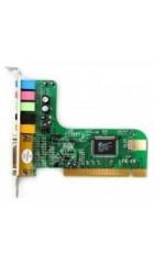 Звуковая карта C-Media 6 Ch, box, PCI, 5.1 Ch, AP: C-Media CMI8738, 16bit/48kHz, SNR: 92dB, EAX 2.0 (M-CMI8738-6CH)
