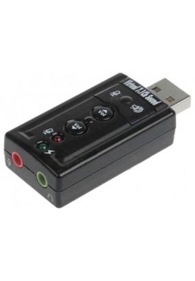 Звуковая карта USB TRAA71 (C-Media CM108) 2.0 Ret