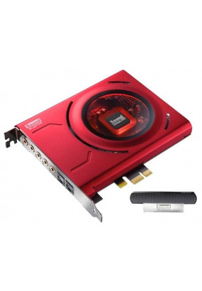 Звуковая карта CREATIVE Sound Blaster Z, Retail (PCI-E, 5.1Ch, AP: Sound Core3D, 24-bit, 192kHz, 116dB SNR, ASIO, внешний супер-микрофон) (70SB150000001)