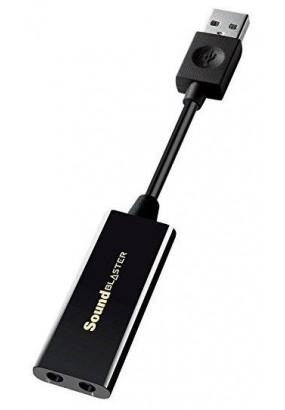 Звуковая карта CREATIVE Sound Blaster Play! 3, USB3.0, Retail (70SB173000000)