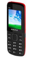 Телефон MAXVI C22 Black/Red