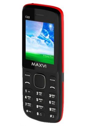 Телефон MAXVI C22 Black