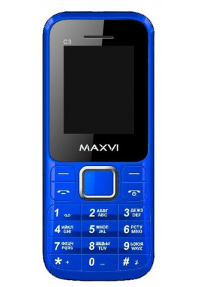 Телефон MAXVI C3 Red
