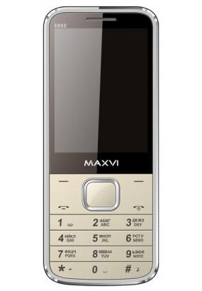 Мобильный телефон Maxvi X850 Silver