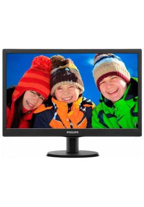 "LCD 19"" PHILIPS 193V5LSB2(10/62), TN, LED, 16:9, 5 мс, 1366x768, 200 кд/м2, 700:1,black"