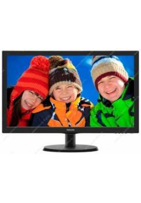 "LCD 22"" PHILIPS 223V5LSB, TN, 1920x1080, 250 кд/м2, 1000:1, 5 мс, 170°/160°, DVI, VGA"