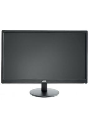"""LCD 24"""" AOC E2470Swhe,TN,1920x1080, LED-подсветка, 250 кд/м2, 1000:1, 5 мс, 170°/160°, HDMI x2, VGA"""