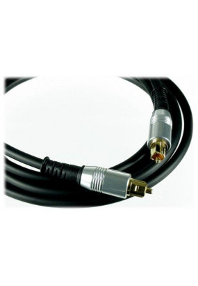 Кабель Atcom Digital Audio Optical cable 1,8meters silver head PE