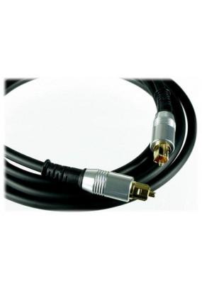Кабель Atcom Digital Audio Optical cable 5,0meters silver head PE
