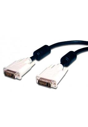 Кабель Atcom DVi-DVI 10.0м с 2-мя ферритовыми кольцами чёрный 24\24pin
