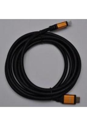 Кабель Atcom HDMI-HDMI 20.0m Ver 2.0 поддержка 4K пакет, металлический коннектор, оплетка