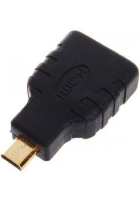Переходник microHDMI(папа) <> HDMI(мама)