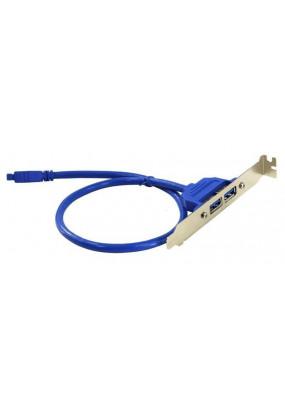 Планка расширения Atcom 2 порта USB3.0 на заднюю панель