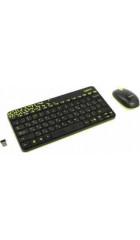 Клав.+ мышь Logitech Wireless Nano MK240 Black (920-008213)