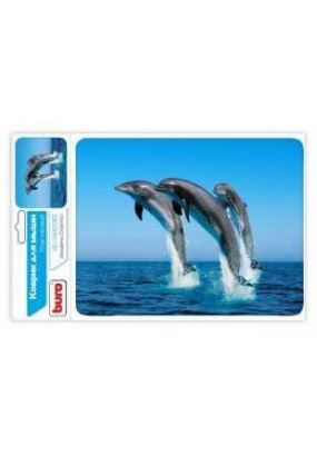 Коврик Buro BU-M40083, рисунок: дельфин