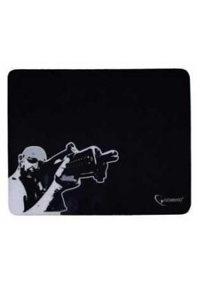 Коврик Gembird MP-GAME12 Black, рисунок: снайпер, материал: ткань + вспененная резина, 250*200*3мм