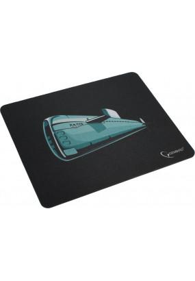 Коврик Gembird MP-GAME7, Black, рисунок: подводная лодка, материал: ткань+ вспененная резина, 250*200*3мм