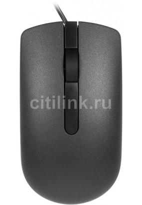 Мышь Dell MS116 RTL черный оптическая (1000dpi) USB (2but)