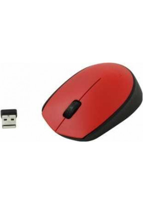 Мышь Logitech M171 Red, Wireless (910-004641)