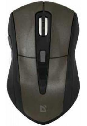 Мышь Defender Accura MM-965 Brown, Wireless, 6 кн., 800-1200-1600 dpi, USB