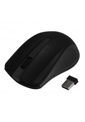 Мышь Ritmix RMW-555 Black, Wireless, 2 + колесо-кнопка, 1000 dpi, USB, оптическая