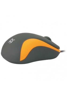 Мышь Defender Accura MS-970 Gray&Orange, USB, 3 кн.,1000dpi