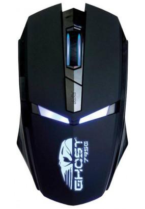 Мышь Oklick 795G GHOST Black, 2400dpi, 5кн, USB
