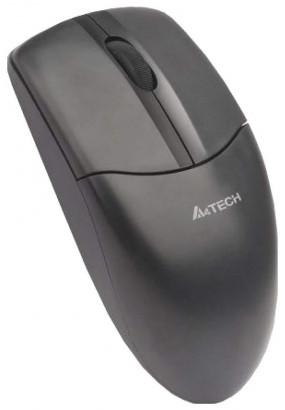Мышь A4 V-Track G3-220N-1 Black, Wireless, 1000dpi, 2кн, USB