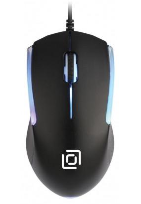Мышь Oklick 245M Black, 1000dpi, 3кн, USB