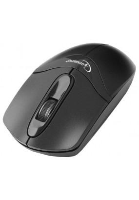 Мышь Gembird MUSW-315 Black, Wireless, USB, 2кн.+колесо-кнопка, 2.4ГГц, 1000 dpi