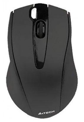 Мышь A4 V-Track G9-500F-1 Black, Wireless, 2000dpi, 2кн, USB