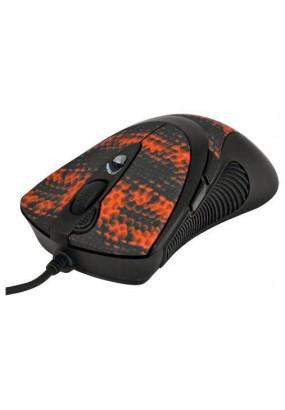 Мышь А4 XL-740K Black/Red, 3600dpi, 6but, USB