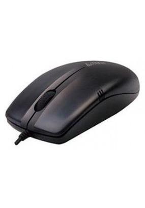 Мышь A4 V-Track Padless OP-530NU Black, оптическая,1000dpi, 2кн, USB