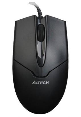 Мышь A4 V-Track Padless OP-550NU Black, оптическая,1000dpi, 2кн, USB
