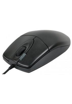 Мышь A4 OP-620D Black, оптическая,800dpi, 2кн, USB