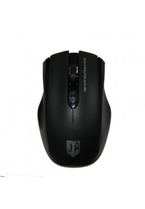 Мышь беспровод. Jet.A Comfort OM-U50G Black (800/1200/1600dpi, 3 кнопки, USB)