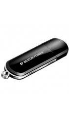 Flash Drive 16G USB 2.0 SiliconPower LuxMini 322 Black (SP016GBUF2322V1K)