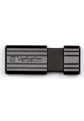 Flash Drive 32G USB 2.0 Verbatim Pin Stripe Black (49064)