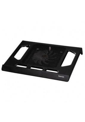 """Подставка для ноутбука до 17,3"""" Hama Black Edition, 1 вентилятор: 140 мм (00053070)"""