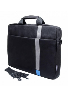 "Сумка для ноутбука 15,6"" PC Pet HQ Classic Toplader Front compartment Blue/Black (PCP-1001BL)"