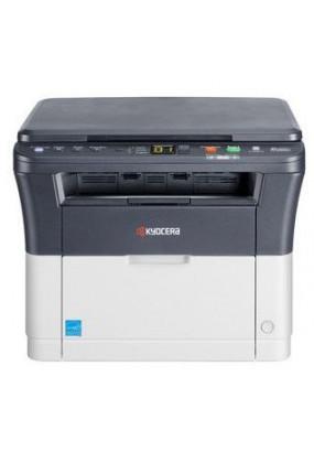 МФУ Kyocera FS-1020MFP, принтер/сканер/копир, A4, печать лазерная черно-белая, 20 стр/мин ч/б, 1800x600 dpi, подача: 250 лист., вывод: 100 лист., память: 64 Мб, USB, ЖК-панель