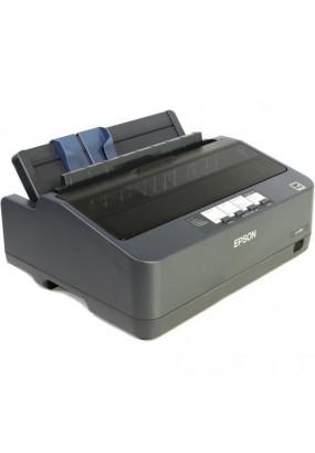 Принтер EPSON LX-350, черно-белая матричная / A4 / USB, LPT,COM